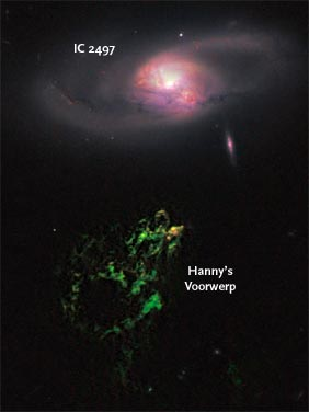 Hanny's Voorwerp and IC 2497
