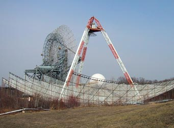 Millstone Hill radar telescopes