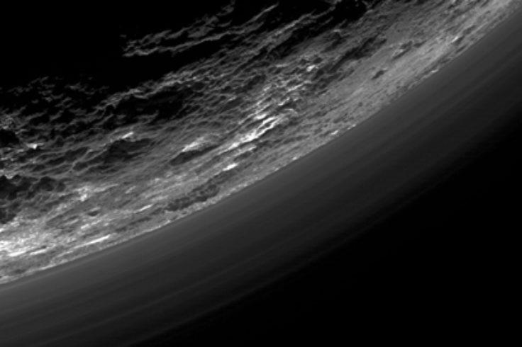 Haze layers in Pluto's atmosphere