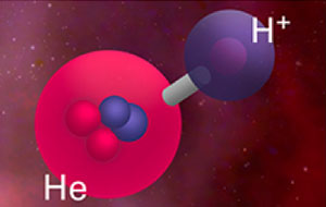 The universe's first molecule: Helium hydride ion