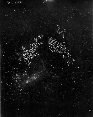 Large Magellanic Cloud with notations