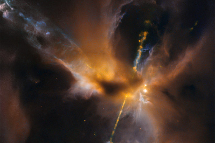 herbig-haro object from star wars