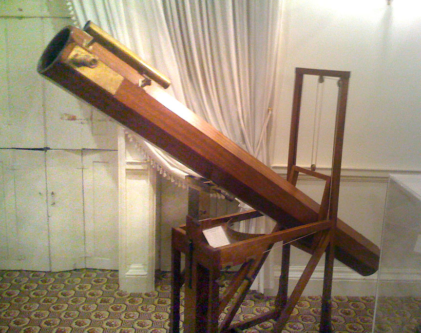 Herschel's 7-foot telescope