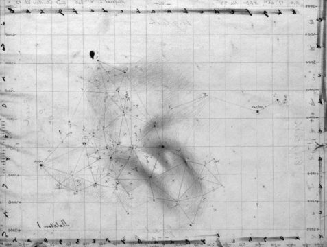 Herschel's sketch of M8