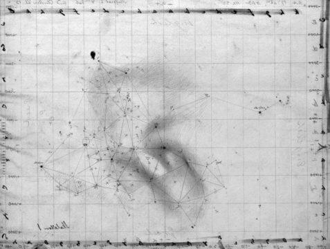 Herschel's sketch of M8