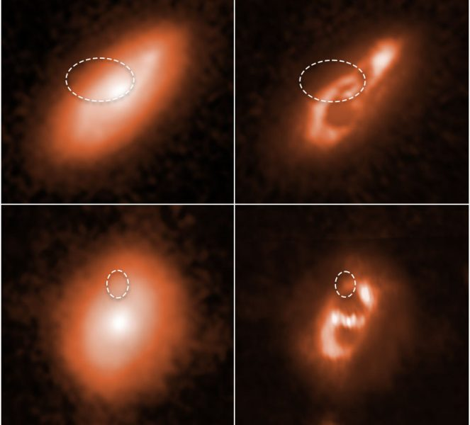 Host galaxy residuals