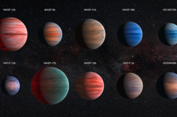 Hubble Exoplanets