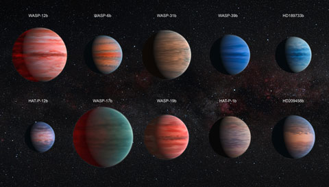 Hubble Exoplanets