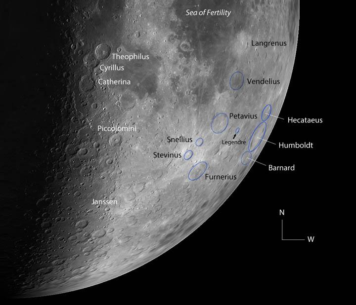 Crater-hop to Humboldt