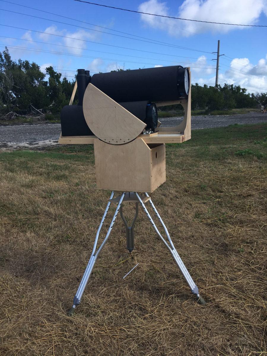 Asymmetrical Binocular Telescope