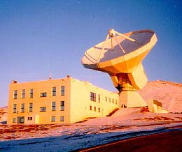 IRAM telescope in Spain