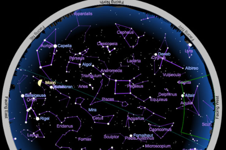 star map for today Interactive Sky Chart Map Your Night Sky Sky Telescope