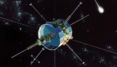 Comet-chasing spacecraft ISEE 3