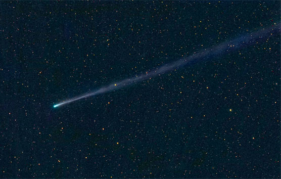 Wide-field view of ISON, Nov. 17, 2013