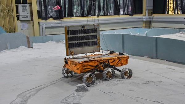 ISRO rover
