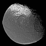 Iapetus and its giant ridge