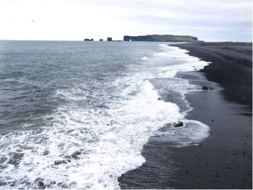 Iceland's southern shore
