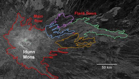 Idunn Mons: a volcano on Venus