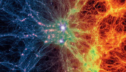 Illustris simulation's view of the universe