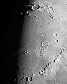 Mare Imbrium and the crater Plato