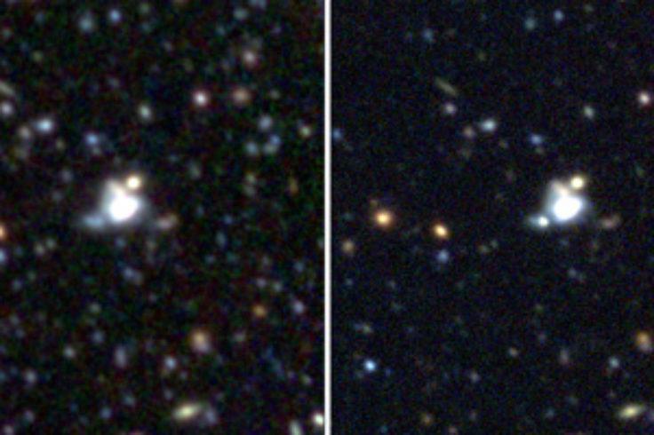 Type Ia supernova before and during