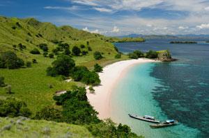 Indonesian coastline