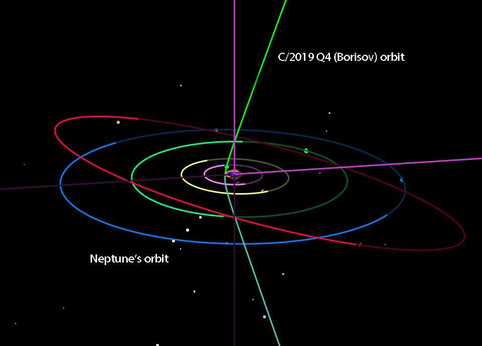 C/2019 Q4 orbit