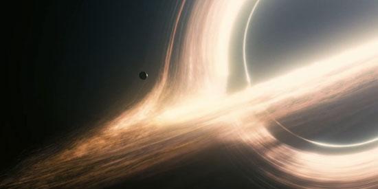 Planet orbiting black hole
