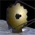 Artist's conception of the James Webb Space Telescope in orbit.