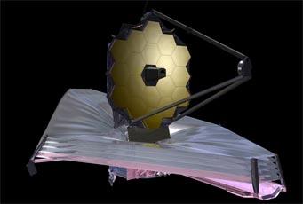 Webb telescop in orbit