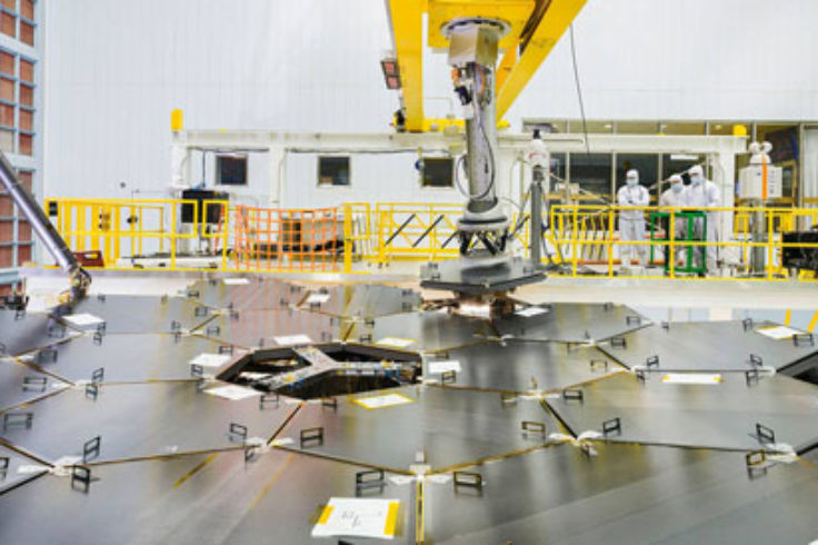 Assembling JWST primary mirror