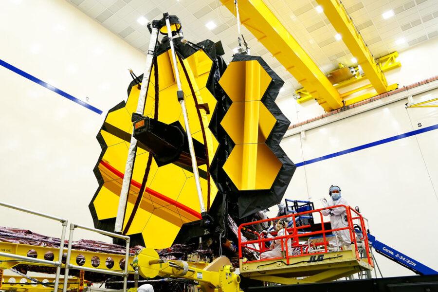 James Webb Space Telescope system test