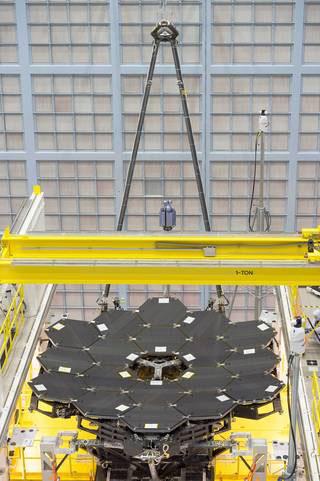 James Webb Space Telescope primary mirror