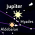 Jupiter among the Hyades