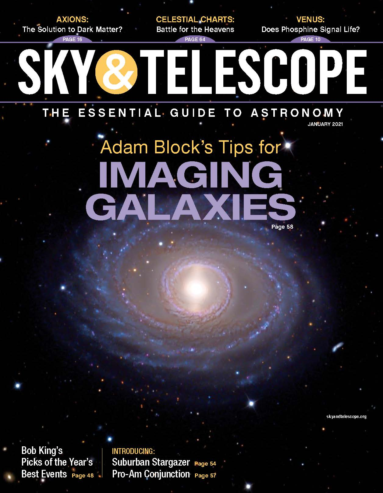 Cover of the January 2021 issue