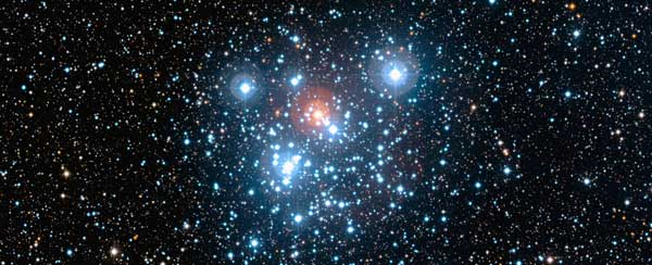 Jewel Box Star Cluster