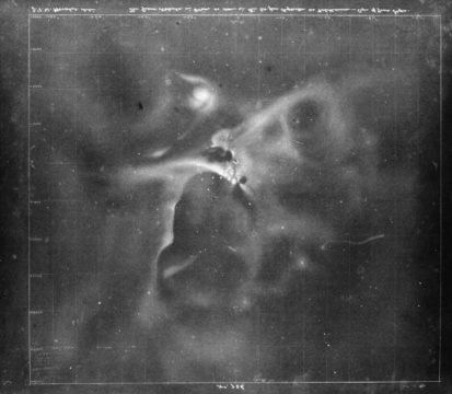 Herschel's Orion Nebula sketch