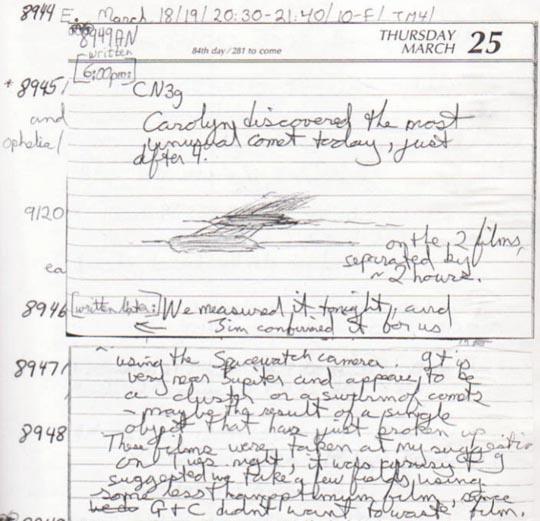 Handwritten history