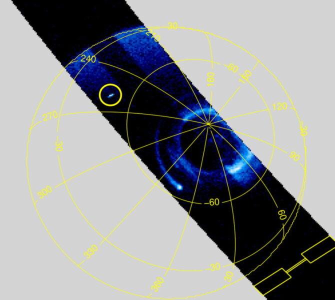 A Jovian sprite
