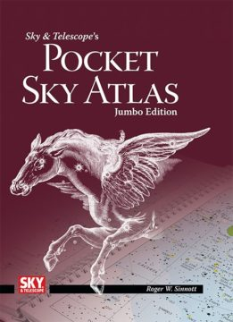 Jumbo Pocket Sky Atlas cover
