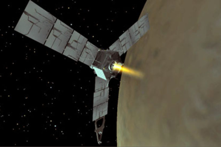 Juno engine burn animation