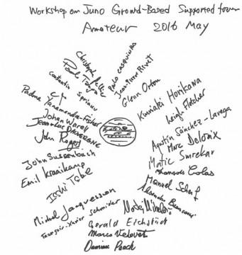 Juno pro-am signatures
