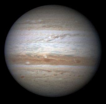 Jupiter on Nov. 24, 2010