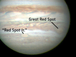Jupiter on Feb. 27, 2006