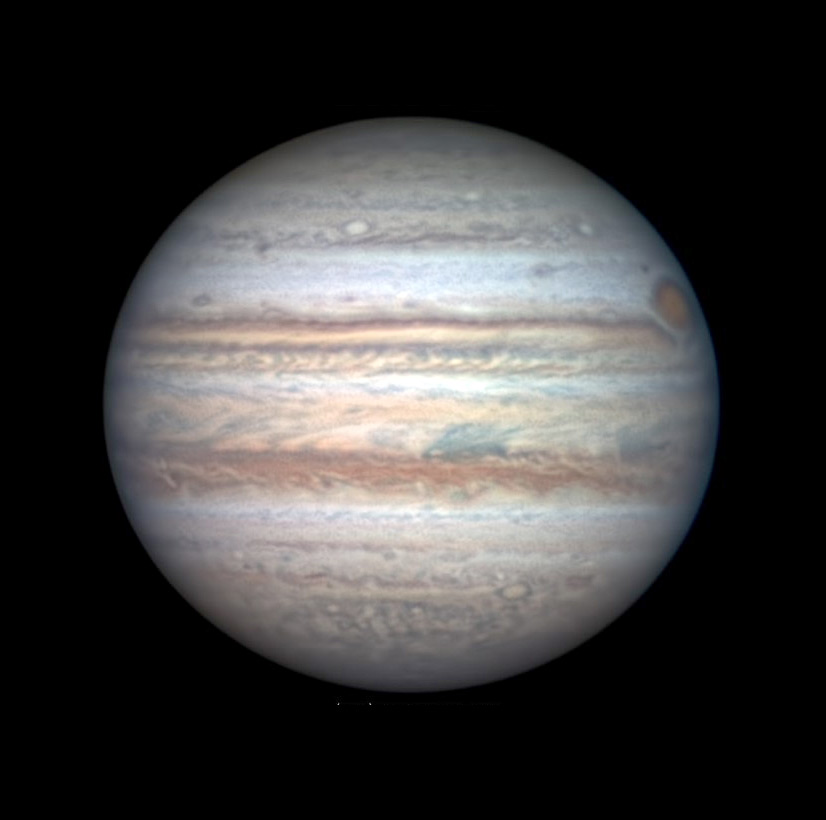 Jupiter at opposition, July 14, 2020