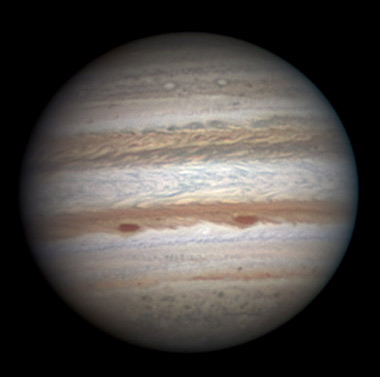 Jupiter on Sept. 13, 2011