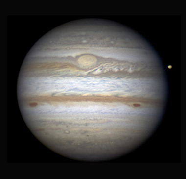 Jupiter on Dec. 2, 2011, at 12:01 UT