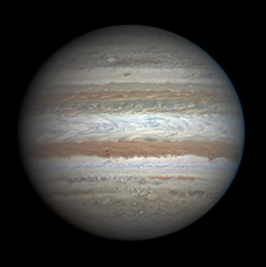 Jupiter on Aug. 16, 2011