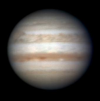 Jupiter on Feb. 11, 2011