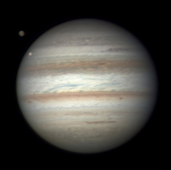 Jupiter on Jan. 18, 2012